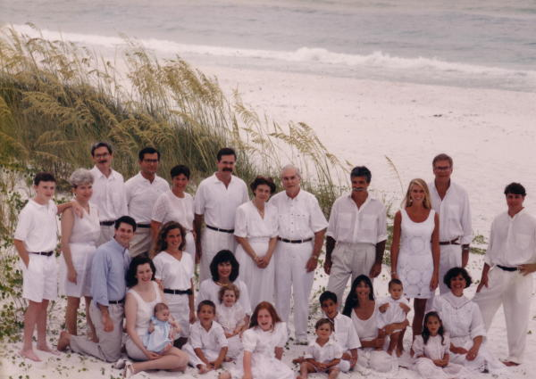 50th anniversary celebration, Destin, FL, 1993